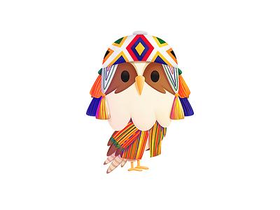 Simon - Peru world branding procreate traditional peru mascot character design design illustration seahawk media seahawk media character simon