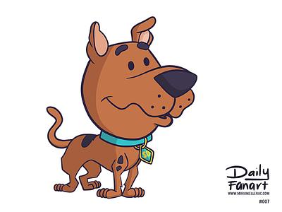 Scooby Doo characters cute children kids cartoon mexico fanart scooby doo