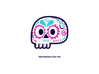 Calavera Sticker