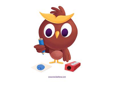 Portfolio Club procreate kidlitartist children cartoons design owly owl illustration mexico characterdesign. cuteart kidlitart