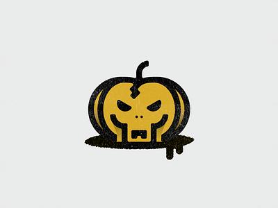 Happy Halloween 2020! spooky black skeleton grain illustrator gradient scribble halloween party rounded yellow skull zombie pumpkin halloween illustration vector symbol minimal icon logo