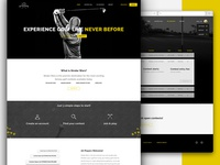 Website Design - Stroke Wars