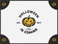 Halloween pumpkin zombie!