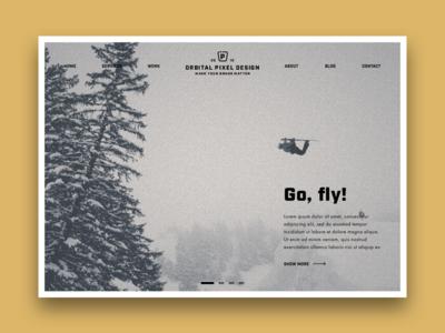 Website Snowboard