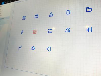 Minimal icon set figmadesign figma pixel perfect ux ios vector symbol sketch app clean design minimal icon