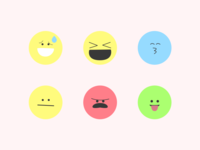 Silly Emoji Faces - Sticker Pack