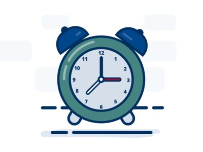 Clock - Daylight Savings Illustration