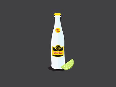 Topochico icon flat austin illustration bottle drink topo chico topochico