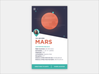 30 Minute Design Challenge (and Daily UI #020) - Mars