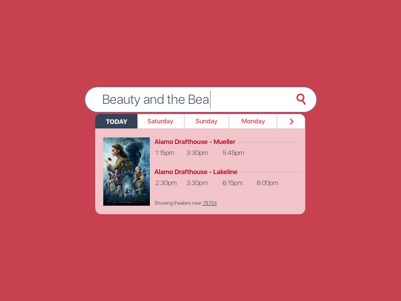 Daily UI #022 theatre movies search bar ux ui 022 daily ui 022 daily ui dailyui search