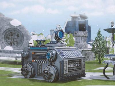 Game Machine render machine game maya modeling