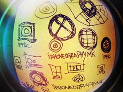 Sketch-ing iphoneographymk blog logo logo sketch iphoneography in progress draft