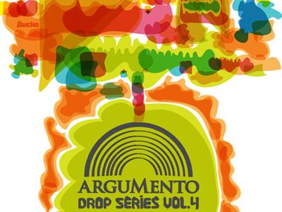 Poster illustration for Argumento Music Group typography poster illustration