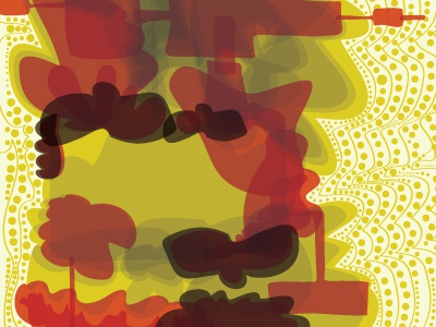 Working on disco statement poster disco poster vector illustration minimal multiply skopje color clubbing