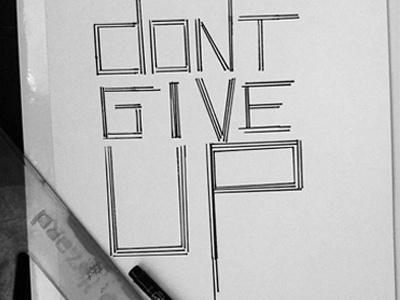 Dont! handrawtypos edition typography skopje