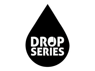 Logo for Drop Series logo graphic music skopje drop drop music clubbing minimal
