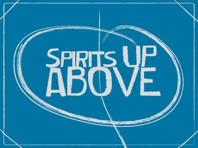 Spirits up above spirit typography spirit up above exprience logo