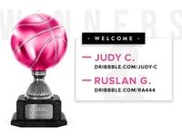 Dribbble Trophy - Winners
