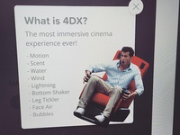 What is 4DX?