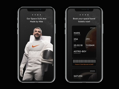 #SPACED Challenge #2 spaced space spacedchallenge ios madewithadobexd adobexd xd