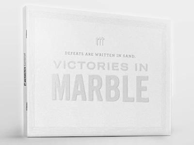 Corporate Brochure croporate brochure marble white minimal