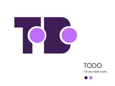 ToDo Logo Concept branding design graphic design illustration logo