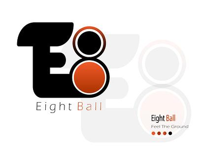 Eight Ball Demo Logo vector branding design graphic design illustration logo