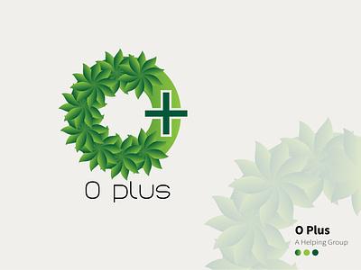 O Plus branding art design illustration graphic design logo