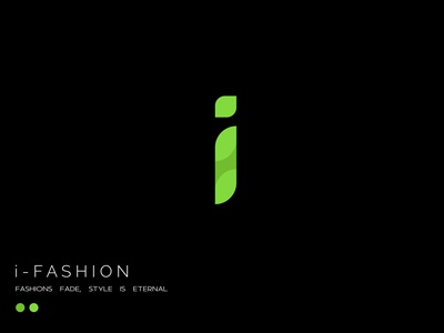 i - Fashion branding vector illustration graphic design design logo