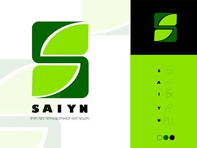 SAIYN  LOGO Concept branding vector design graphic design illustration logo