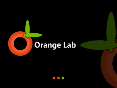 Orange Lab Demo Logo branding vector illustration graphic design design logo