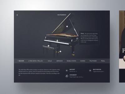 Piano Design By Anton Borzenkov