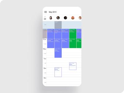 Scheduler concept