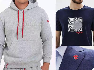 sigma merch product animation video presentation merch style corporate pin hoodie tshirt logo branding