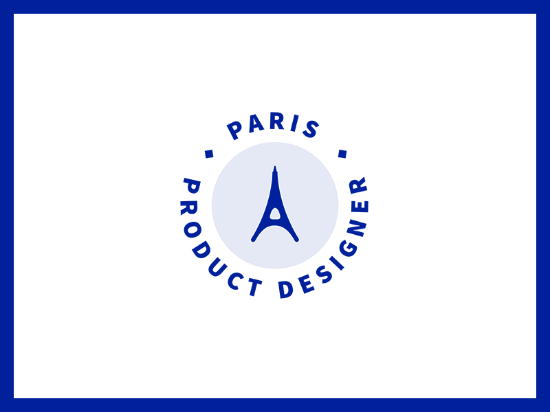 Logo for Paris Product Designer designer product logo