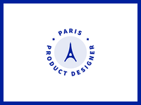Logo for Paris Product Designer