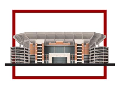 Alabama Bryant-Denny Stadium university college birmingham ncaa football roll tide stadium alabama