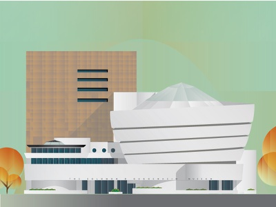 Guggenheim New York manhattan buildings architecture frank lloyd wright new york museum guggenheim