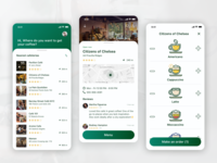 Coffee app redesign mobile rating map ordering coffee app concept design ui