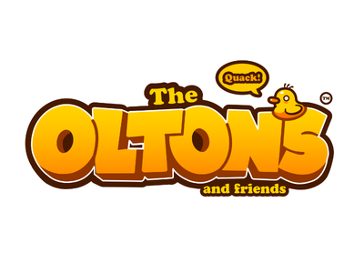 The Oltons (and Friends) Logo Design designs design typography branding digital vector cute duck logodesign logo friends and oltons olton the