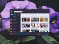 Play music player  freebie fullview