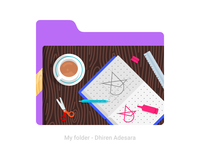 Personal folder icons update 6 + new logo / mark