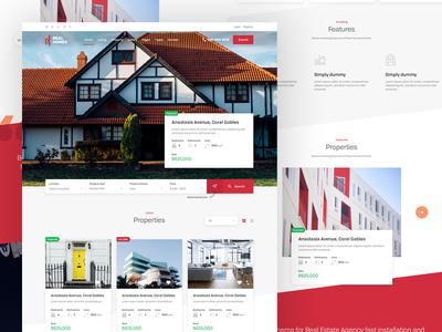 Real Homes Theme themeforest property sale rent design theme real estate wordpress real homes