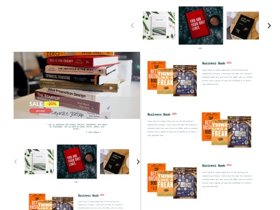 Book Sale Landing Page | 003 DailyUI landing page ux ui dailyui