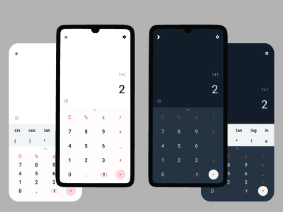 Calculator | 002 DailyUI 004 calculator design app ux ui dailyui