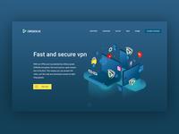 VPN web design WIP