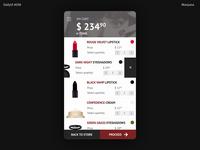 Daily UI #058 -Shopping Cart