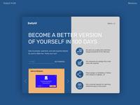 Daily UI #100 - DailyUI Landing Page