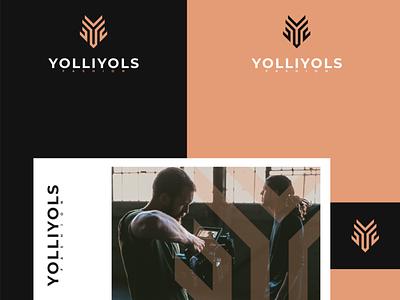 monogram y for yolliyols brandmark logos symbol lettering monogram typography logo vector illustration icon design branding