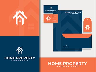 property logo building logo letter busines symbol logo inspir logo ideas logo type logo inspiration building property home brand lettering vector logo icon design branding